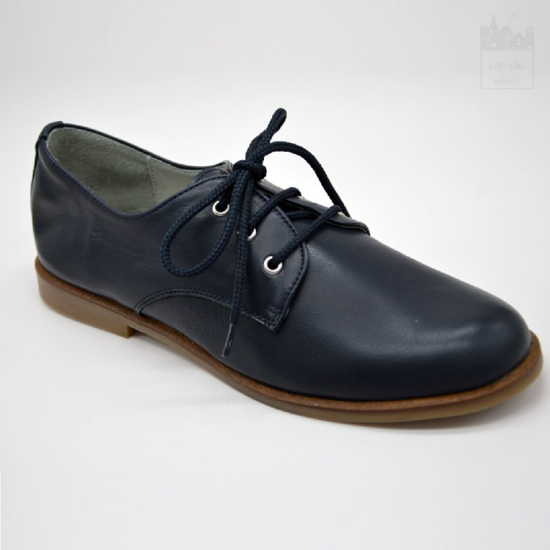 Zapato de vestir para niño marino