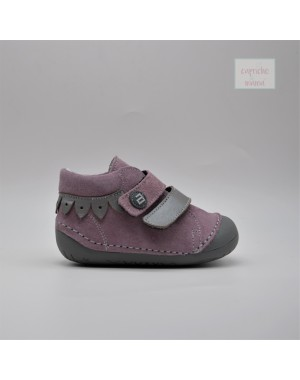 Bota primeros pasos combinado rosa GATEAFLEX