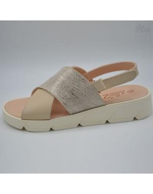 Sandalia de plataforma para chica